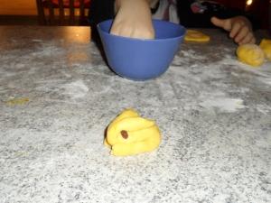 lussekanin före bakning