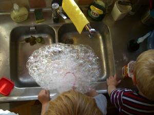 Bubbel experiment