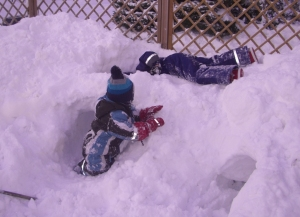 snögrottebygge